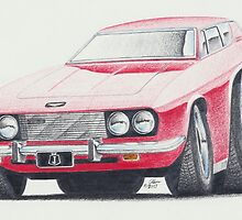 Jensen Interceptor III by Glens Graphix by GlensGraphix