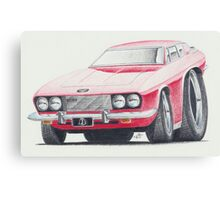 Jensen Interceptor III by Glens Graphix Canvas Print