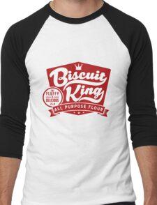 Biscuit King Men's Baseball ¾ T-Shirt