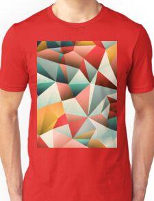 Modern Abstract Geometric Pattern Unisex T-Shirt