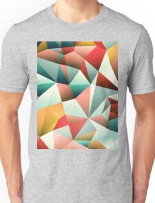 Modern Abstract Geometric Pattern Unisex T-Shirt