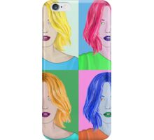 Pop Art Beautiful Woman - Warhol Style iPhone Case/Skin