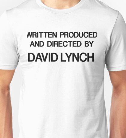 Lynchian - Black Version Unisex T-Shirt
