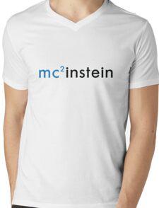 Einstein Mens V-Neck T-Shirt