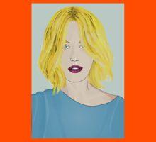 Blonde Ambition - Gorgeous Blonde Woman Illustration Kids Clothes