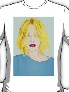 Blonde Ambition - Gorgeous Blonde Woman Illustration T-Shirt