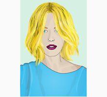 Blonde Ambition - Gorgeous Blonde Woman Illustration Unisex T-Shirt