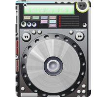 DJ decks iPad Case/Skin