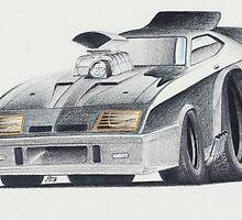 "Mad Max ""Interceptor"" by Glens Graphix by GlensGraphix"