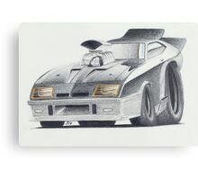 "Mad Max ""Interceptor"" by Glens Graphix Metal Print"