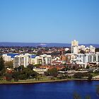 Perth City WA by lezvee
