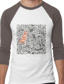 RIOT!  Men's Baseball ¾ T-Shirt