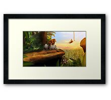Jungle Lineage Framed Print
