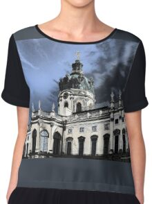 castle charlottenburg in berlin germany Women's Chiffon Top