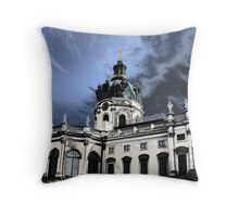 castle charlottenburg in berlin germany Throw Pillow