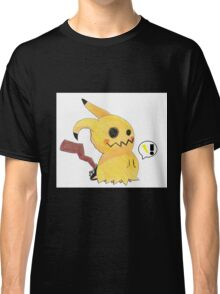 Mimikyu Attacks with Thunderbolt! Classic T-Shirt
