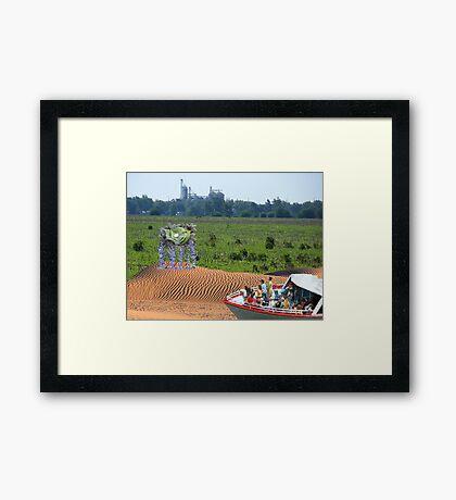 Eco-Tourism  Framed Print