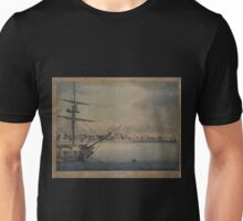 374 New York View from the south man of war at l Unisex T-Shirt