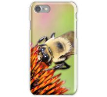 Fuzzy bumble iPhone Case/Skin