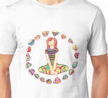 yoga girl - tea mug - coffee mug Unisex T-Shirt
