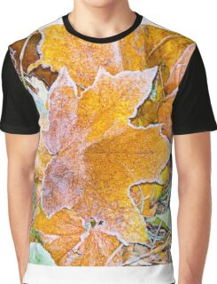 Autumn leaves as a background Graphic T-Shirt