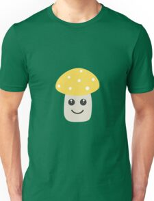 Cute yellow toadstool Unisex T-Shirt