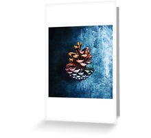 Rescued Pinecone Greeting Card