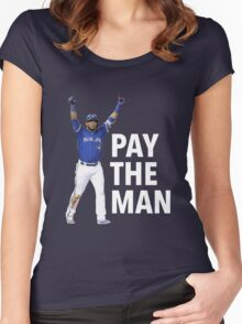 EDWIN | PAY THE MAN Women's Fitted Scoop T-Shirt