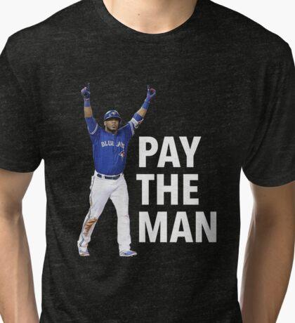 EDWIN | PAY THE MAN Tri-blend T-Shirt