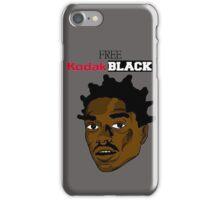 Free Kodak Black  iPhone Case/Skin