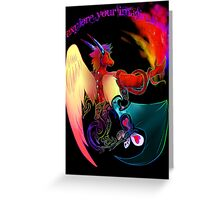 Explore You'r Imagination Greeting Card