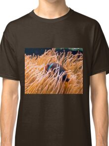 Sea anemone and clown fish Classic T-Shirt