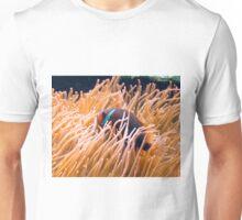 Sea anemone and clown fish Unisex T-Shirt