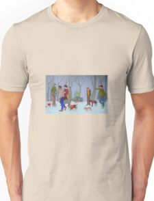 Community Gathering for the Pets Unisex T-Shirt