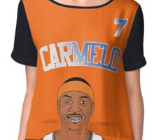 Carnelo Anthony Fan Designed Clothes Chiffon Top