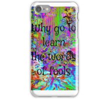 It's All Too Beautiful iPhone Case/Skin