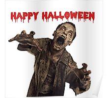 Zombies Walkers Halloween Poster