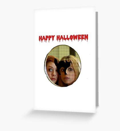 Buffy Halloween Greeting Card