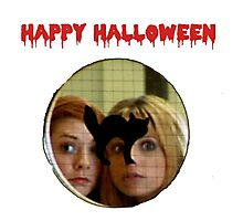 Buffy Halloween Photographic Print