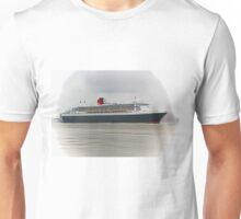 Queen Mary 2 (Digital Art) Unisex T-Shirt