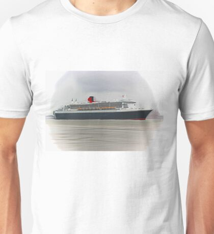 Queen Mary 2 (Digital Art) Unisex T-Shirt
