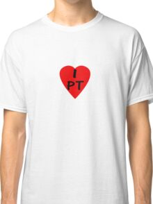 I Love Portugal - Country Code PT T-Shirt & Sticker Classic T-Shirt