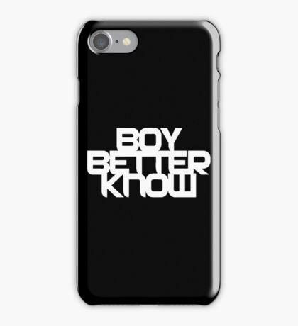 BBK On Various Items iPhone Case/Skin
