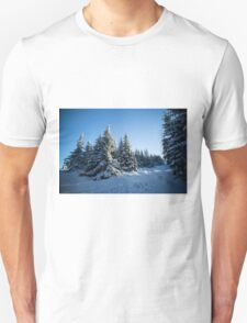 Snow Covered Trees/ Winter Fern T-Shirt