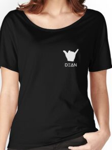 Dean Hand Pose Women's Relaxed Fit T-Shirt