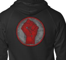 Fist Of Revolution Zipped Hoodie