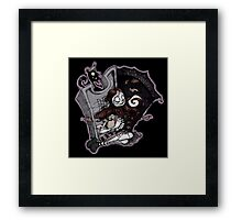 The Nightmare Before Christmas - Sally Framed Print