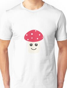 Cute red mushroom Unisex T-Shirt