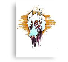 dripwolf.png Canvas Print
