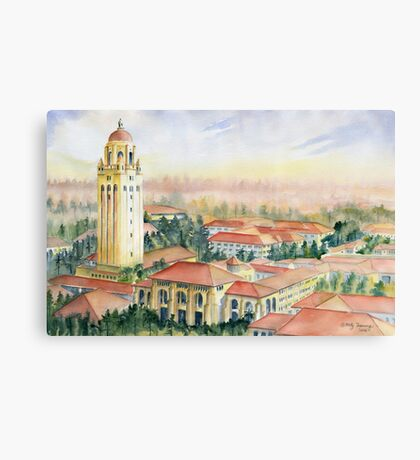 Stanford University California Canvas Print